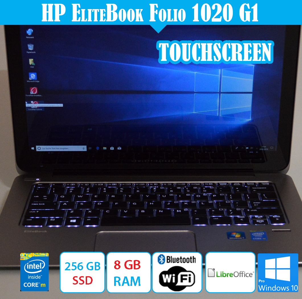 HP Elitebook Folio 1020 G1 12,5
